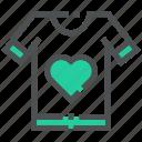 apparel, clothing, love, shirt, t-shirt, washing, wear