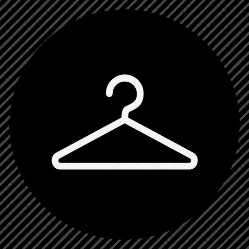 clothes, clothing, dress, fashion, hanger, man, woman icon