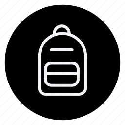 bag, clothes, clothing, dress, man, schoolbag, woman icon
