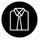 clothes, clothing, dress, formal shirt, man, shirt, woman icon