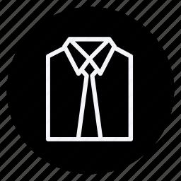 clothes, clothing, dress, formal shirt, man, shirt, woman icon