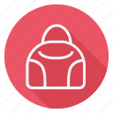 bag, clothes, clothing, fashion, handbag, man, woman icon