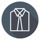 business, clothes, dress, fashion, man, shirt, woman icon