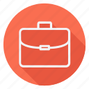 briefcase, clothes, dress, fashion, man, suitcase, woman icon