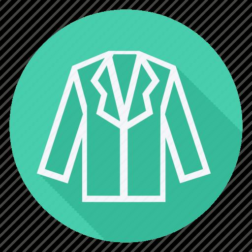 clothes, clothing, dress, fashion, jacket, man, woman icon
