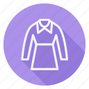 clothes, clothing, dress, fashion, long sleeve, man, woman icon