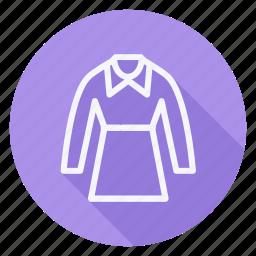 clothes, clothing, dress, fashion, long sleeve, man, woman icon