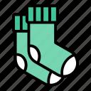 clothing, socks, footwear