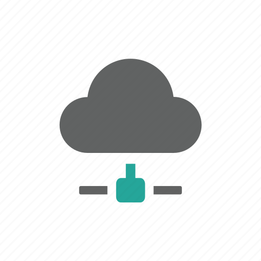 cloud, connect, network, server, share icon
