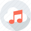 cloud, internet, music, note, player, weather, web