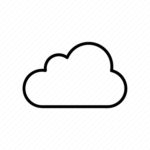 cloud, cloudy, fluffy, forecast, weather icon