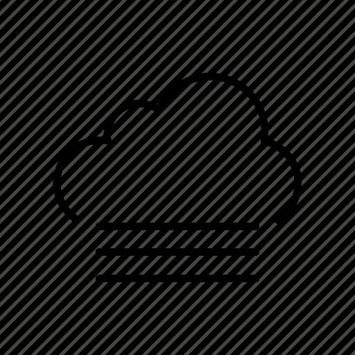 cloud, fog, foggy, forecast, visibility, weather icon