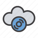 cloud, internet, network, server icon