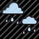 clouds, rain, sky, weather