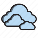 cloud, nature, sky, weather icon