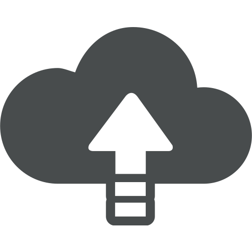 arrow, cloud, cloud computing, sync, up, update, upload icon