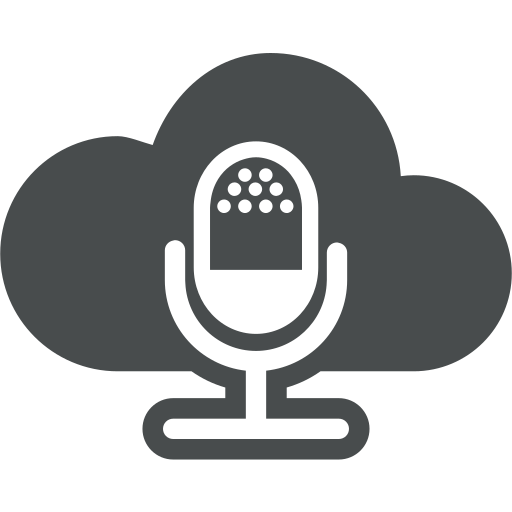 cloud, cloud computing, entertainment, interview, mic, microphone, multimedia icon