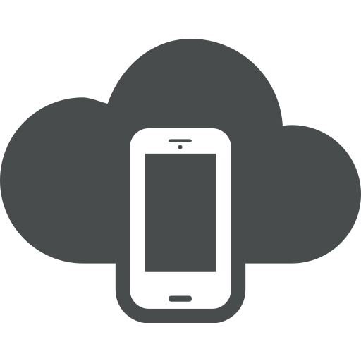 android, cloud, cloud computing, device, mobile, phone, smartphone icon
