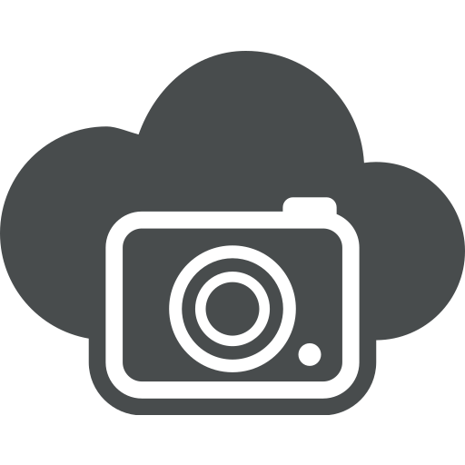 camera, cloud, cloud computing, image, multimedia, photo, picture icon