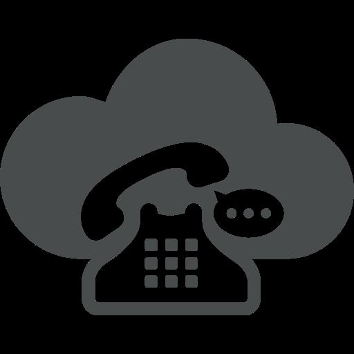 bubble, cloud, cloud computing, communication, retro, speech, telephone icon