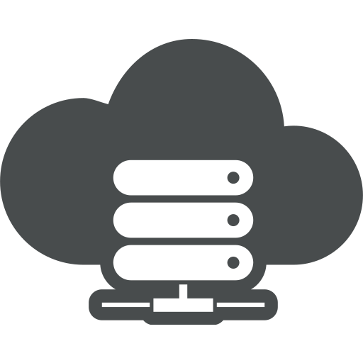 cloud, cloud computing, disk, hard, hdd, network icon