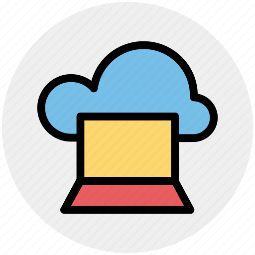 Cloud computing, cloud computing concept, cloud monitor, cloud on screen, cloud storage, cloud technology icon - Download on Iconfinder