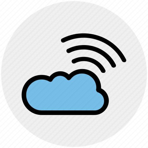 Cloud, cloud computing, network, wifi cloud computing, wireless internet icon - Download on Iconfinder