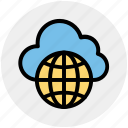 cloud globe, cloud wireframe globe, cloud world, globe, planet, universe, world, world globe