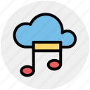cloud and music note, cloud music, cloud music concept, cloud with music sign, music cloud, musical cloud