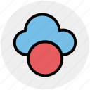 cloud, cloud computing, computing, help, verify, weather icon