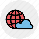 cloud, global, global cloud network, international cloud computing, universal cloud network, worldwide cloud network
