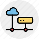 cloud computing server, cloud hosting, cloud internet hosting, cloud network, cloud server icon