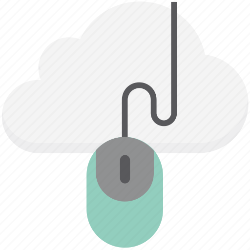 cloud computing, cloud mouse, computer mouse, input device, mouse icon