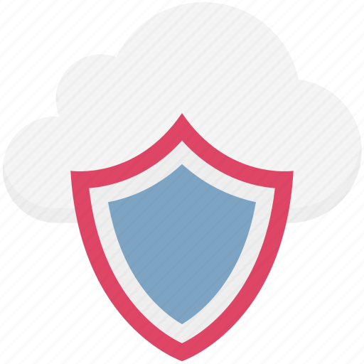 cloud computing, cloud security, cloud shield, network password, network security icon