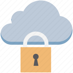 cloud computing, cloud identity, cloud network, cloud security, network security, unlock icon