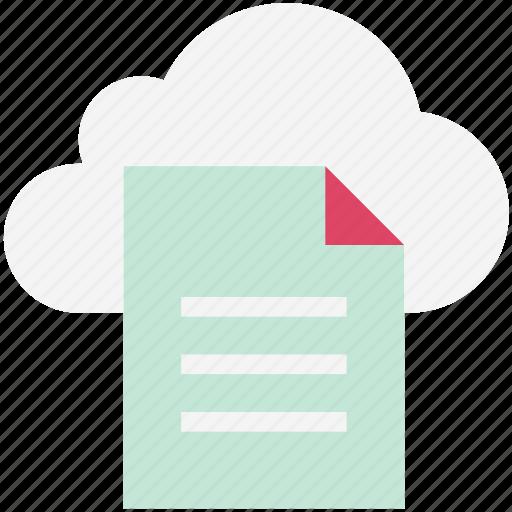 cloud computing, cloud storage, digital storage, file storage, online docs, sky docs, wireless technology icon
