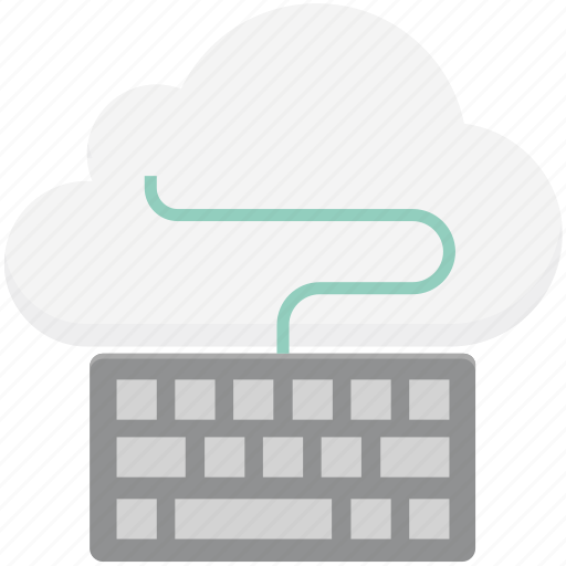 cloud computing, cloud data, cloud hosting, cloud monitoring, data center, keyboard, online marketing icon