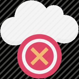 cancel, close, cross sign, delete, dismiss, modal, remove icon