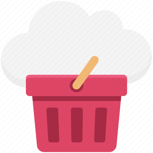 buy online, cloud computing, ecommerce, online shopping, online store, shopping basket icon