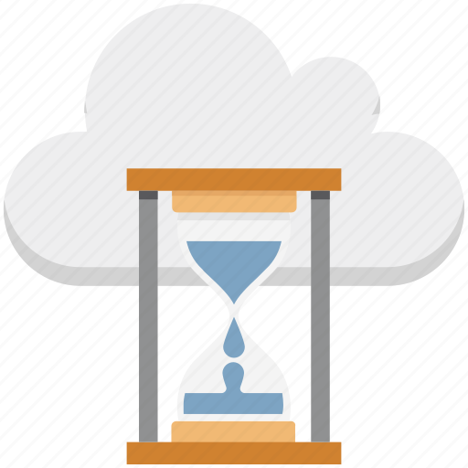 egg timer, hourglass, sand clock, sand timer, sand watch, timer icon