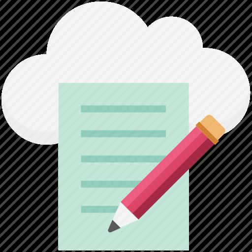 composing, edit, lead pencil, pencil, pencil color fill, writing icon