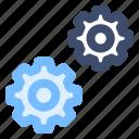cloud optimization, cloud storage, data setting, preferences, seo icon