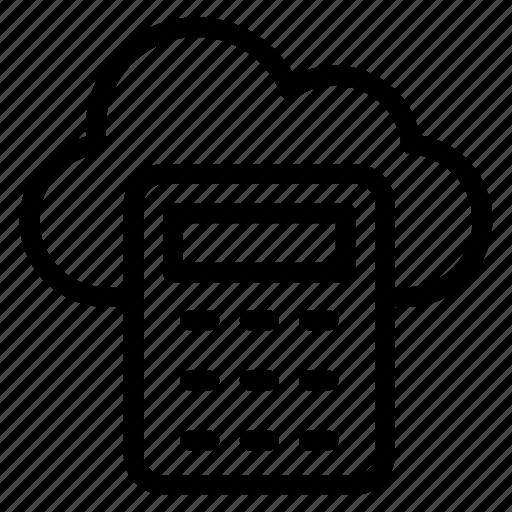 cloud calculator, cloud computing calculator, cloud computing cost, cloud cost calculator, cloud cost estimator icon
