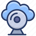 cloud computing, cloud hosting, cloud monitoring, cloud network, cloud services, cloud technology icon