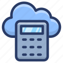 cloud calculator, cloud computing calculator, cloud computing cost, cloud cost calculator, cloud cost estimator icon