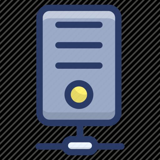 data administration, data server network, data server structure, data storage, database, sql icon