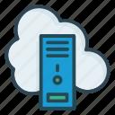 cloud, desktop, pc icon