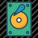 harddrive, hub, storage icon