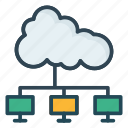 cloud, connection, network icon