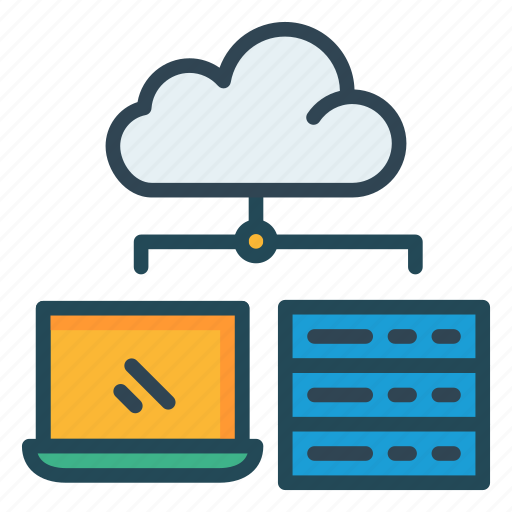 cloud, network, storage icon